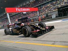 In the Paddock w/Lotus Pilot Romain Grosjean at the 2015 #F1 Chinese Grand Prix