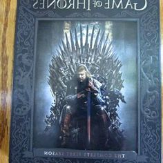 Find great deals for Game of Thrones: The Complete First Season (DVD, 2012, 5-Disc Set). Shop with confidence on throne-game.top! factory sealed, Game of Thrones:The Complete First Season, DVD UPC 883929268757. $15.00. Free shipping. Br New condition; Sold by bigvalueguy; Est. #GameofThrones #GoT #WinterIsHere #JonSnow #tvtag #DemThrones #DVD #gifts