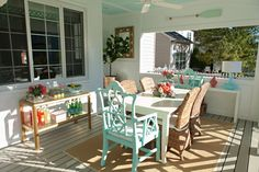 House of Turquoise: Porches