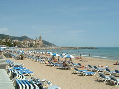 Fragata Beach - One of 11 beaches in Sitges - A Convenient Beach for all the Family