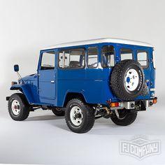 1983 Toyota Land Cruiser BJ46 Medium Blue, see related pics…