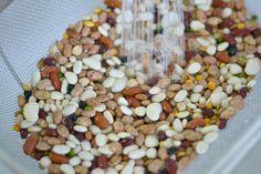 rinse beans