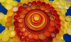 Art Rocks!: Bottle Cap Mural