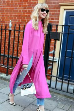 Looks We LOVED from London Fashion Week Fall 2017 Street Style | FashionFiles