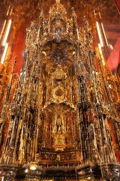Cathedral - La Gran Ostensoria de Toledo, Spain.