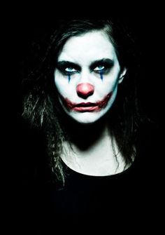 evil clown makeup - Google Search