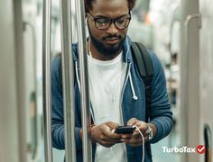 Your commute just got a little bit better. Download the TurboTax App and you can file from anywhere on any device. http://tax.sh/1w8uzS0