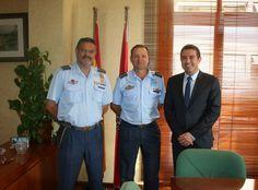 Despedida oficial del Coronel Jefe de la Base Aérea de Alcantarilla, Antonio Sánchez Flores