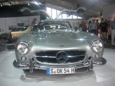 1954 Mercedes Benz 300SL Gullwing in Silver Goodwood Festival of Speed 2011 Front View