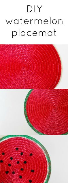 This watermelon placemat is too sweet for summer! Each placemat costs only $1!