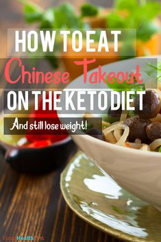 Keto Chinese Takeout Guide: Eat and Lose Weight – Craving chinese food while on the keto diet? Look no further as in this article we will explore how to eat keto chinese food, and also create keto chinese food! Chinese Food Take Out, Order Chinese Food, Low Carb Chinese Food, Chinese Food Restaurant, Keto Restaurant, Keto Fast Food, Keto Foods, Keto Meal, Keto Takeout