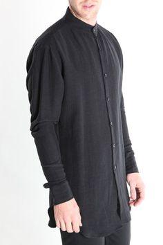 Band Collar Shirt – machus