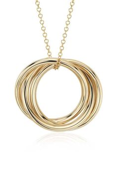 Infinity Rings Pendant | Click for your chance to win a $1000 gift card from #BlueNile!