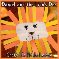 Daniel and the Lion's Den Paper bag puppet...lion's mouth opens to reveal fangs. Have the kids close their lions' mouths to show what the angel did for Daniel.
