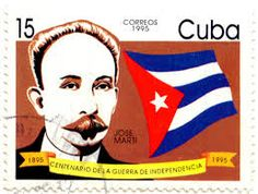 """national flags on stamp+cuba"""