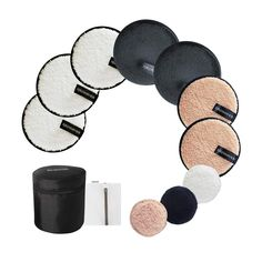 Reusable Makeup Remover Pads: 7-Pack ( 3.7inch) Coming with Laundry Bag, Travel Bag and 3 Eye Pads - Soft Chemical-free Facial Cotton Pads- Perfect for Facial Cleansing Natural Makeup Remover, Best Makeup Remover, Makeup Remover Pads, Makeup Wipes, Makeup Removers, Simple Eye Makeup, Love Makeup, Contour Makeup, Skin Makeup