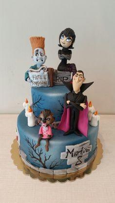 Hotel transylvania cake