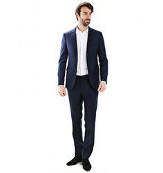 Costume cintré en pure laine Super 110's Vitale Barberis Canonico