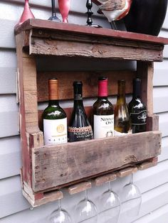Wine and pallets … the perfect harmony! 18 creative ideas to be ispired…