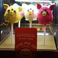 furby cake pop : pop me up