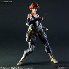 Square Enix Play Arts Kai Metal Gear Solid Meryl Silverburgh Action Figure