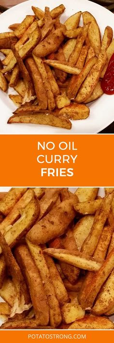 I've been loving my baked herb crispy fries for a couple years now but after having gone to Costa Rica I got the idea for trying curry fries! Ingredients (for one person): 4-5 medium potatoes 1 tbsp curry powder (adjust to volume of potatoes) 1 tsp Lawry's seasoning salt (optional) Wash 4-5 medium potatoes and …