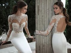 www.weddbook.com everything about wedding ♥ Berta Bridal Sexy Lace Wedding Dress #weddbook #wedding #fashion #sexy #dress #bride