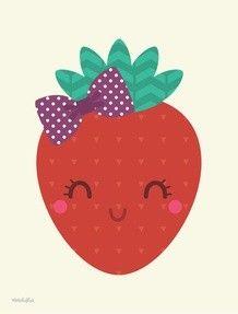 MORANGUINHO Summer Wallpaper Phone, Smile Wallpaper, Do It Yourself Baby, Fruit Birthday, Mickey Mouse Wallpaper, Cute Fruit, Fruit Party, Kawaii Cute, Cute Icons
