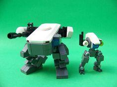 WT-037 'storm front' [walking tank] SF-028 'marmot' [spotting frame] (3) | Flickr - Photo Sharing!