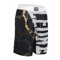 Short MMA STREET noir  Leone1947 Microfibre et lycra shorts confortables pour l'entraînement et de compétition avec l'impression sublimée Short Mma, Fight Wear, Barbarian, Parachute Pants, Microfibre, Sweatpants, Impression, Street, How To Wear
