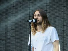 Jared Leto: I just love him. His hair, his smile, his eyes. You can just tell that he is such a beautiful soul