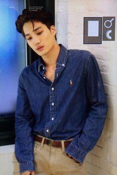 "years ago today he served one of his best looks"" Hot Korean Guys, Exo Korean, Korean Men, Asian Men, Asian Guys, Chanyeol Baekhyun, Exo Kai, Taemin, Shinee"