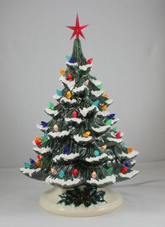 98 Best Vintage Ceramic Christmas Tree Images In 2017 Vintage