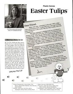 Easter Tulips Pg. 2