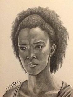 Sasha - The Walking Dead  - Facebook/Look Again