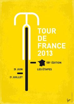 "cyclingisart: "" Tour de France poster 2013 """