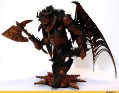 Warhammer 40000,warhammer40000, warhammer40k, warhammer 40k, ваха, сорокотысячник,фэндомы,Miniatures (Wh 40000),Wh conversion,demon Prince,demon,Angron,Primarchs,Fulgrim,Magnus The Red,Pandemonium