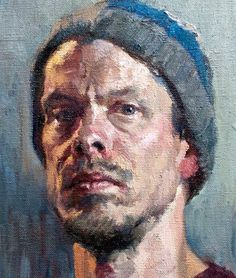 Art of Karl Kopinski | Self Portrait