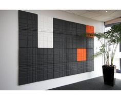 Acoustic wall tiles // #bafco #bafcointeriors Visit www.bafco.com for more inspirations.