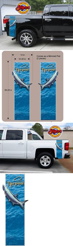 Decals Stickers And Patches  American Flag Flying Bald - Truck bed decals custom