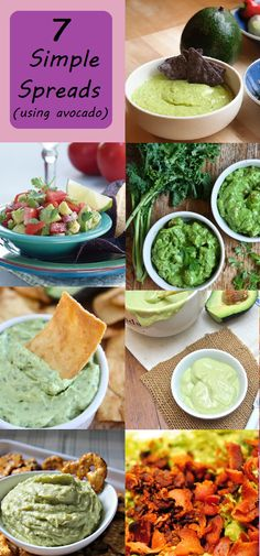 Move over guacamole!  7 Amazing Avocado Dips!