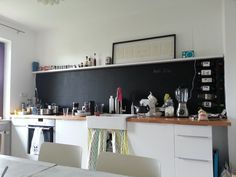 Uberlegen Küche. Küchenzeile Ohne Oberschränke