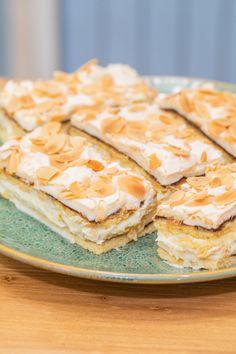 Walevské řezy — Peče celá země — Česká televize Oreo Cupcakes, Dessert Recipes, Desserts, Cheesecake, Food And Drink, Treats, Cooking, Ethnic Recipes, Sweet
