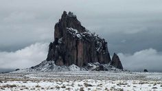 New Mexico Winter Shiprock, NM