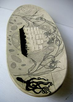 Diana Fayt  Scrimshaw Inspired Works