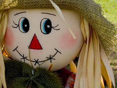 Scarecrow Face Template | Indesign Art and Craft