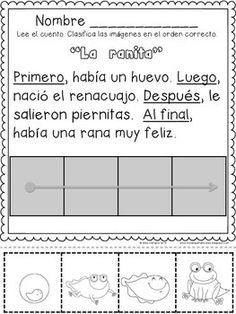 Recortando Secuencias Temporales (cuatro escenas)  con PRIMERO, LUEGO, DESPUES, AL FINAL
