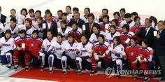 South Korean Hockey Athletes Mingle with North Korean Players After Match | Koogle TV