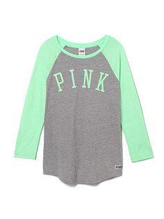 Baseball Tee - PINK - Victoria's Secret $29.95