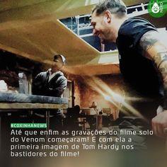 #CoxinhaNews É para glorificar de pé!  #TimelineAcessivel #PraCegoVer  Imagem do ator Tom Hardy com a legenda: Até que enfim as gravações do filme solo do Venom começaram! E com ela a primeira imagem de Tom Hardy nos bastidores do filme!   TAGS: #coxinhanerd #nerd #geek #geekstuff #geekart #nerd #nerdquote #geekquote #curiosidadesnerds #curiosidadesgeeks #coxinhanerd #coxinhafilmes #filmes #movies #cinema #cinefilos #euamocinema #adorocinema #cinefilos #marvel #marvelmovies #sony #venom…